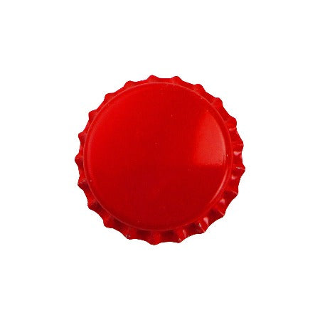 Pry-off Bottlecaps - Red - Canadian Homebrewing Supplier - Free Shipping - Canuck Homebrew Supply