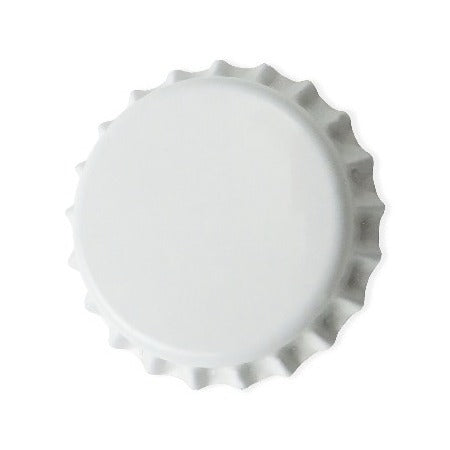 Pry-off Bottlecaps - White - Canadian Homebrewing Supplier - Free Shipping - Canuck Homebrew Supply