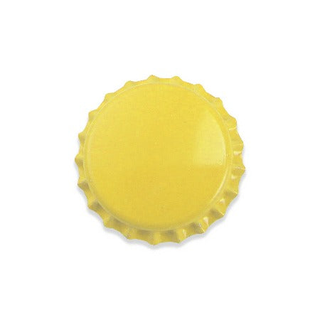 Pry-off Bottlecaps - Yellow - Canadian Homebrewing Supplier - Free Shipping - Canuck Homebrew Supply