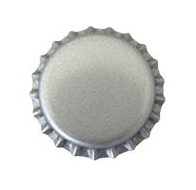 Approx. 10000 Silver/Grey Beer Bottle Caps