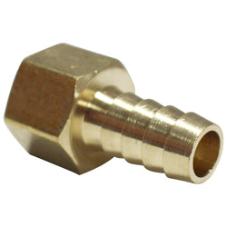 "1/2"" Brass Barb to 1/2"" Female NPT"