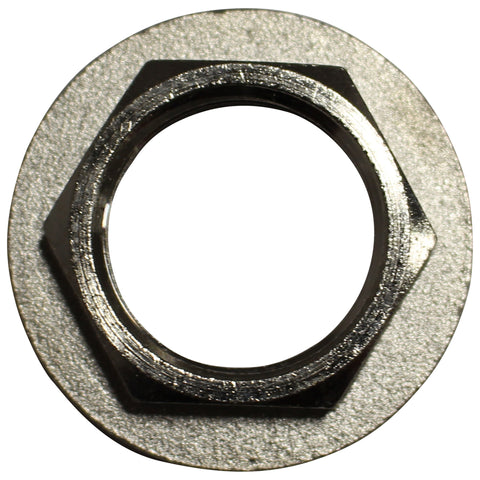 Chrome Plated Brass Lock Nut with Flange