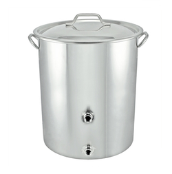 16 Gallon Stainless Steel Welded Brew Kettle