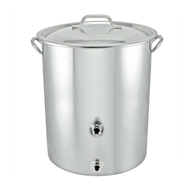 10 Gallon Stainless Steel Welded Brew Kettle