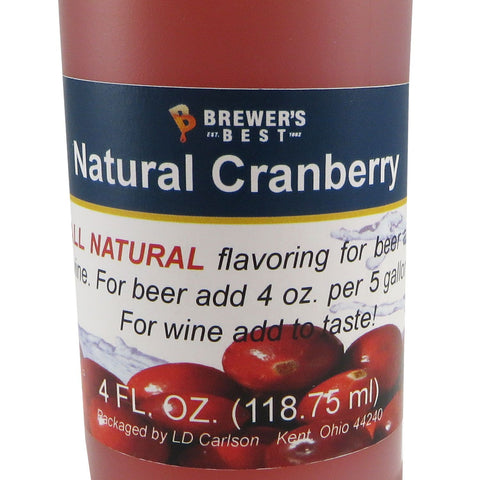 Natural Cranberry Flavouring Extract - 4oz