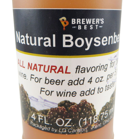 Natural Boysen Berry Flavouring Extract - 4oz