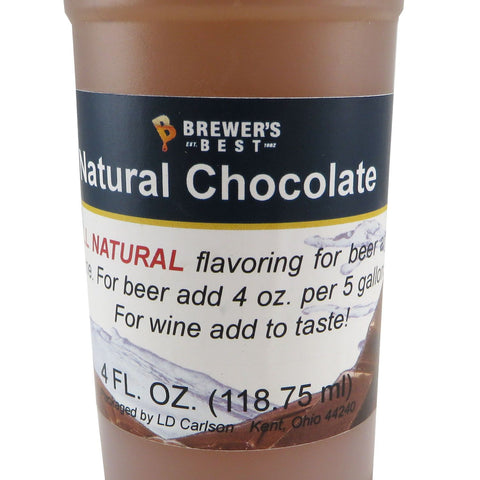 Natural Chocolate Flavouring Extract - 4oz