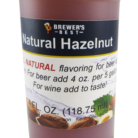 Natural Hazelnut Flavouring Extract - 4oz