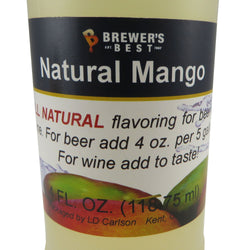 Natural Mango Flavouring Extract - 4oz