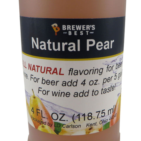 Natural Pear Flavouring Extract - 4oz