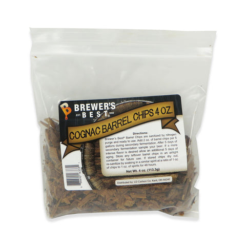 Cognac Barrel Chips - 4oz