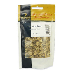 Dried Licorice Root - 1 oz (28 g) - Canadian Homebrewing Supplier - Free Shipping - Canuck Homebrew Supply