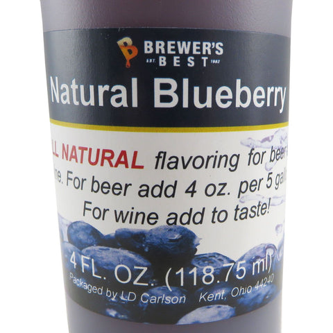 Natural Blueberry Flavouring Extract - 4oz