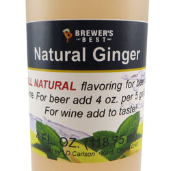 Natural Ginger Flavouring - 4oz