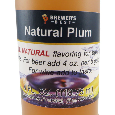 Natural Plum Flavouring Extract - 4oz