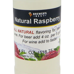 Natural Raspberry Flavouring Extract - 4oz