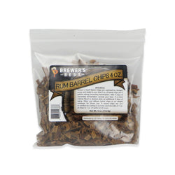 Rum Barrel Chips - 4oz