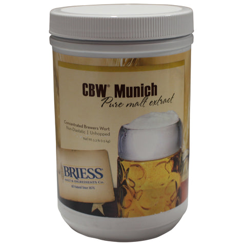 CBW Munich Liquid Malt Extract (LME) - 3.3 lb
