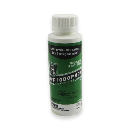 Iodophor Sanitizer - 4oz