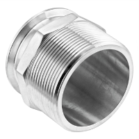 "Stainless Steel Tri-Clover Fitting - 3"" TC X 3"" Male NPT"