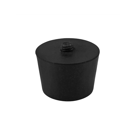 Cannular Compact Bench Top Can Seamer Turntable Rubber Foot