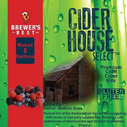 Mixed Berry Cider Recipe Kit