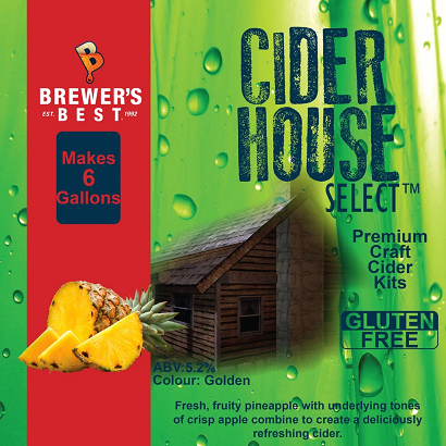 Pineapple Cider Recipe Kit