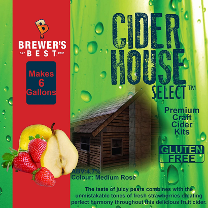 Strawberry Pear Cider Recipe Kit