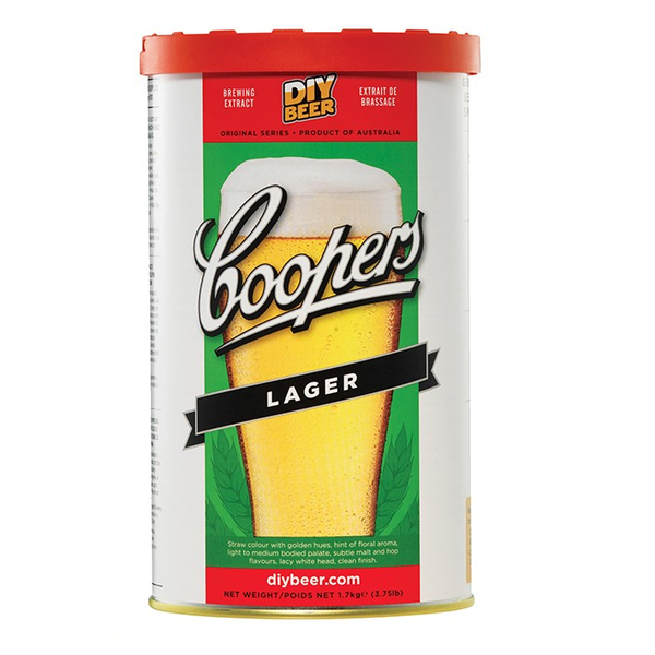 Coopers Lager Beer Kit