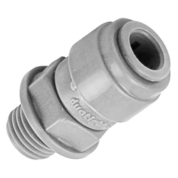 "Duotight Food Grade Plastic (Push-In) Fitting - 1/4"" Male NPT X 5/16"" (8mm)"