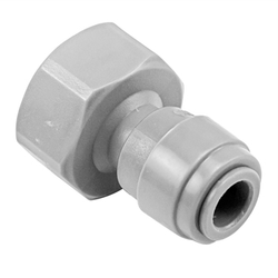 "Duotight Food Grade Plastic (Push-In) Fitting - 7/8""-14 (5/8"" Female BSP) X 5/16"" (8mm)"