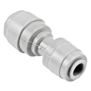 "Duotight Food Grade Plastic (Push-In) Straight Reducer - 1/4"" (6.35mm) X 5/16"" (8mm)"