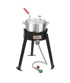 Bayou Classic Aluminum Fish Cooker with Pot