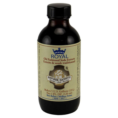 Royal Old Fashioned Root Beer Extract - 4oz