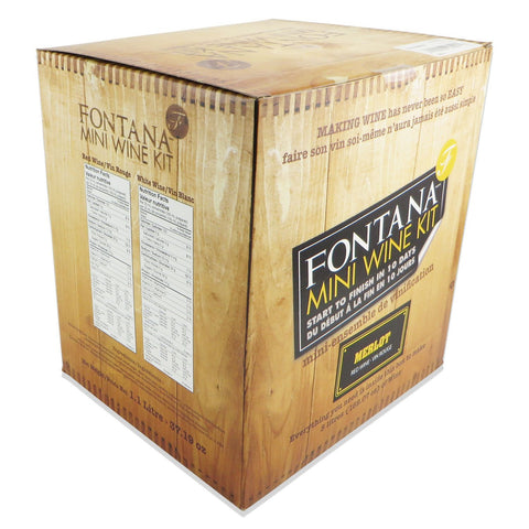 Fontana Mini Wine Kit - Merlot