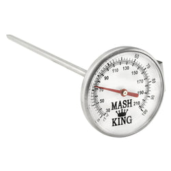 "Mash King Clip on Dial Thermometer - 6"" Probe"