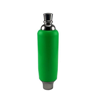 Stubby Green Tap Handle