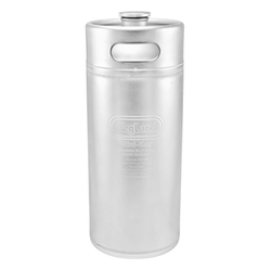 "Stainless Steel ""Mini-Keg"" Growler - 4 L"