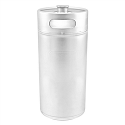 "Stainless Steel ""Mini-Keg"" Growler - 8 L"