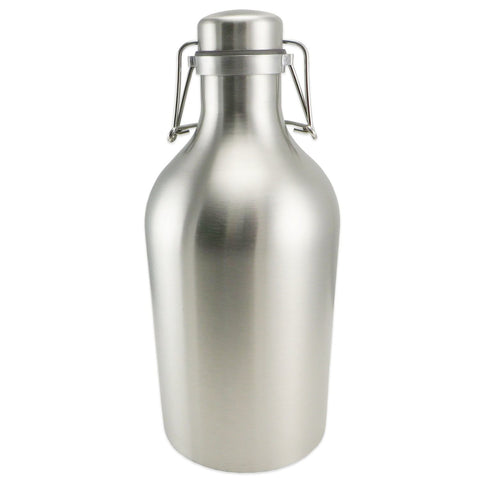 Stainless Steel Swing Top Growler - 64oz