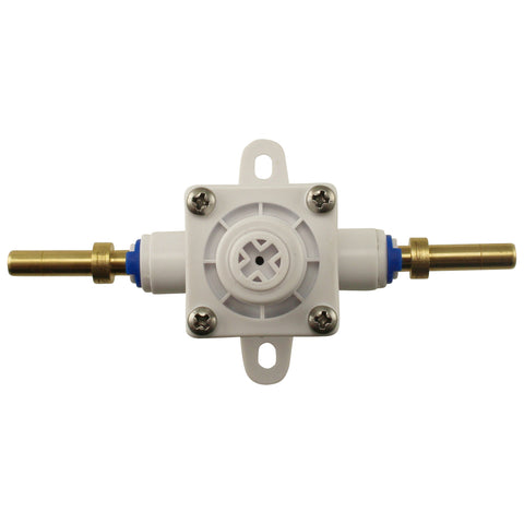 "Inline Adjustable Regulator - 1/4"" Barbs"