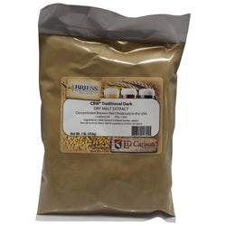 CBW Traditional Dark Dry Malt Extract (DME) - 1lb
