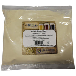 CBW Golden Light Dry Malt Extract (DME) - 1lb