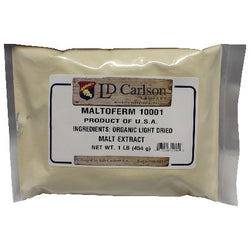 Maltoferm 10001 - Organic Light Dry Malt Extract (DME) - 1lb