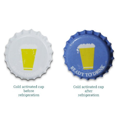 Pry-off Bottlecaps - Cold Activated