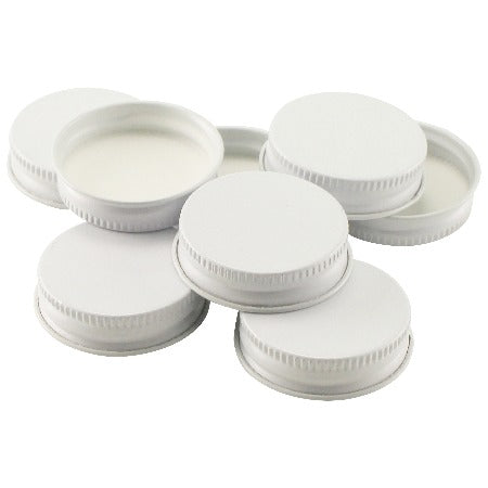 Metal Screw Caps - 38 mm - (72 per bag)