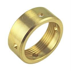 Micro Matic Brass Beer Faucet Coupling Nut