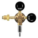 Micro Matic 1-Way Primary Low Pressure Nitrogen Regulator - 15PSI, 3000 PSI - Back View