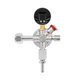 Micro Matic Primary Add-On Co2 Regulator (60 PSI) - Premium Plus Series - Back View