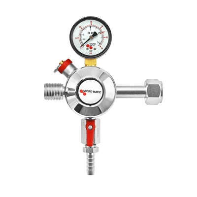 Micro Matic Primary Add-On Co2 Regulator (60 PSI) - Premium Plus Series